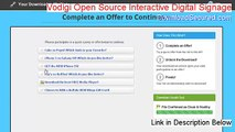 Vodigi Open Source Interactive Digital Signage Full [Free of Risk Download]