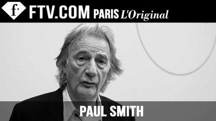Paul Smith Designer's Inspiration | London Men's Fashion Week Fall 2015-16 | FashionTV