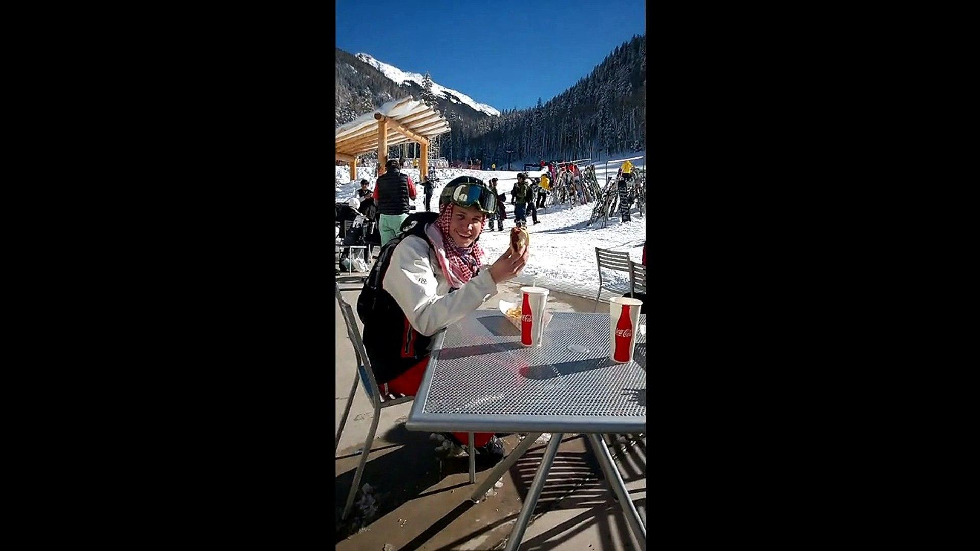 Free Ski Tips-Taos-eat before you drive out to ski area