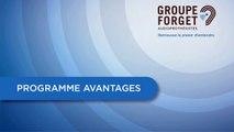 Programme Avantages Groupe Forget