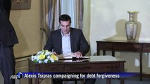 New Greek PM says debt a crisis for whole EU