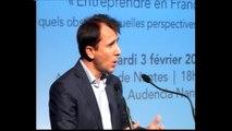Audencia Nantes reçoit Thibault Lanxade - « Entreprendre en France : quels obstacles, quelles perspectives »