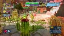 Plants vs Zombies Garden Warfare Sharkbite Shores Cactus Sony Playstation 4 HD Gameplay # 3 part