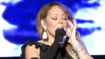 Mariah Carey foire son playback en plein concert