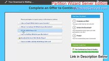 Partition Wizard Server Edition Keygen - Legit Download 2015