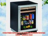 Uline Origin Series 6 Cu Ft 16 Bottle Mechanical Beverage Center Stainless Steel