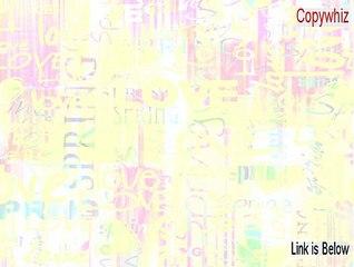 Copywhiz Key Gen (Instant Download) - Watch Dailymotion Videos