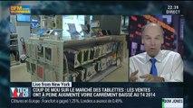 Gros coup de mou sur le marché des tablettes: Jean-Bernard Cadier - 02/02