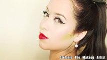 Katy Perry SUPERBOWL Makeup Tutorial (MAQUILLAJE Estilo Katy Perry!)
