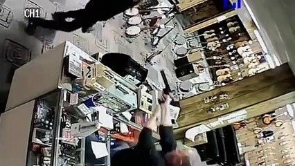 Un braqueur simule sa mort pour pouvoir s'enfuir !