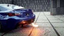 Faire du DRIFT avec une voiture Lexus télécommandée!
