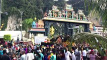 Carnival scenes as Malaysian Hindus mark Thaipusam