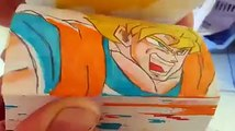 Superman vs Sangoku : le combat ultime en flipbook
