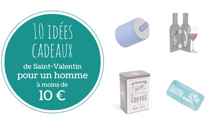 cadeau saint valentin 10 euros