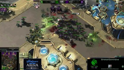 roof (Z) vs. Maj0r (T) - MyStarCraft Arena #5 powered by Dailymotion StarCraft II Heart of the Swarm
