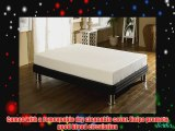 Happy Beds StressFree 9inch Memory Foam 10000 Orthopaedic Mattress with Removable zip cover