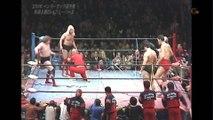 AJPW Classics Giant Baba & Jumbo Tsuruta Vs. Michael Hayes & Terry Gordy (1/20/84) 1080p HD