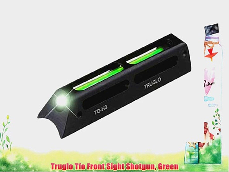 Truglo Tfo Front Sight Shotgun Green
