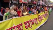 Petrol bomb attack on Bangladesh bus leaves seven dead