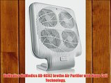 HoMedics HoMedics AR-NC02 brethe Air Purifier with Nano Coil Technology