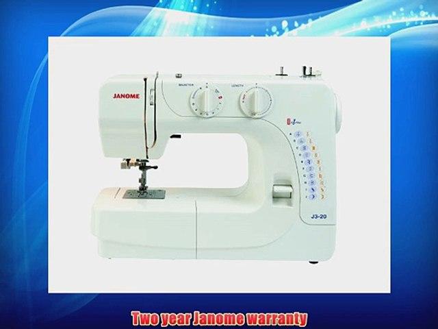 Janome J3 20 Sewing Machine Video Dailymotion