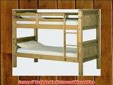 Corona 3' Bunk Bed in Distressed Waxed Pine