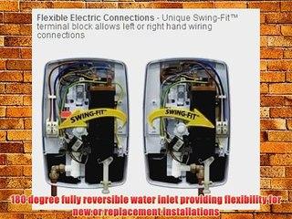 Triton T80Z Fast-Fit 8.5kW Electric Shower - White/Chrome