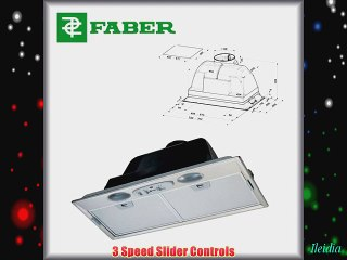 Faber Inca Plus Kitchen Cooker Hood / Extractor fan 520mm or 700mm (2 years manufacturer's