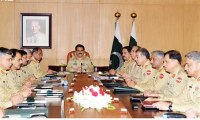 Corps commanders conference held at GHQ