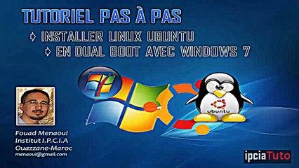 Installer Linux Ubuntu en dual boot avec Windows 7