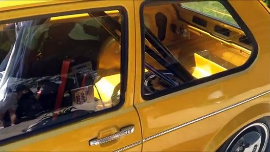 Golf 1 ABF on Ronal Turbo Wheels