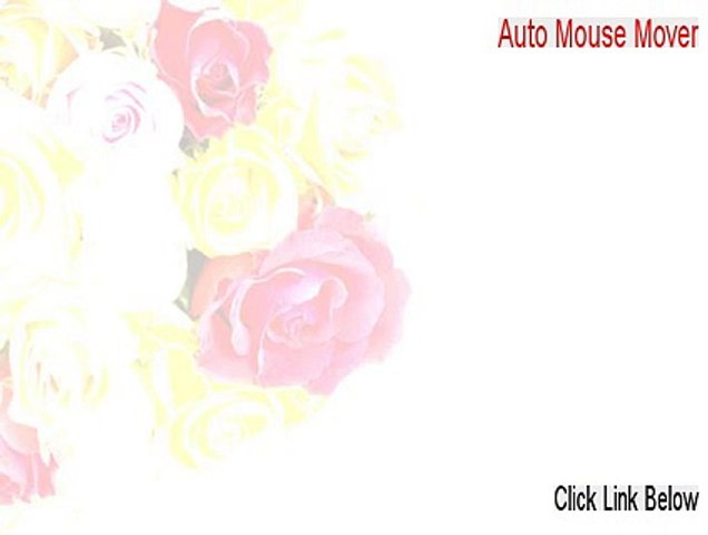 Auto Mouse Mover Download [auto mouse mover mac]