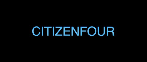 Citizenfour - Bande-annonce