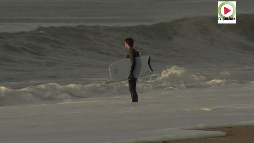Plouharnel: Ils font du Surf en hiver - Bretagne Tele