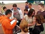 L'AAJ Blois tennis ouvre ses portes à la 6e Segpa de Blois-Vienne