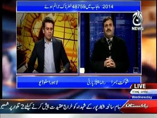 Islamabad Tonight - 4th February 2015