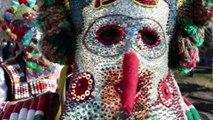 Chasse aux démons dans l'un des plus vieux carnavals du monde en Bulgarie