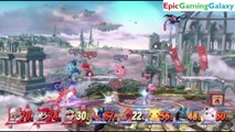 Sheik And The Mario Brothers VS Pokemon Team In A Super Smash Bros. For Wii U 8 Player Team Battle