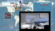 Voile - Vendée Globe : Le parcours en animation de Gabart et Lecléac'h
