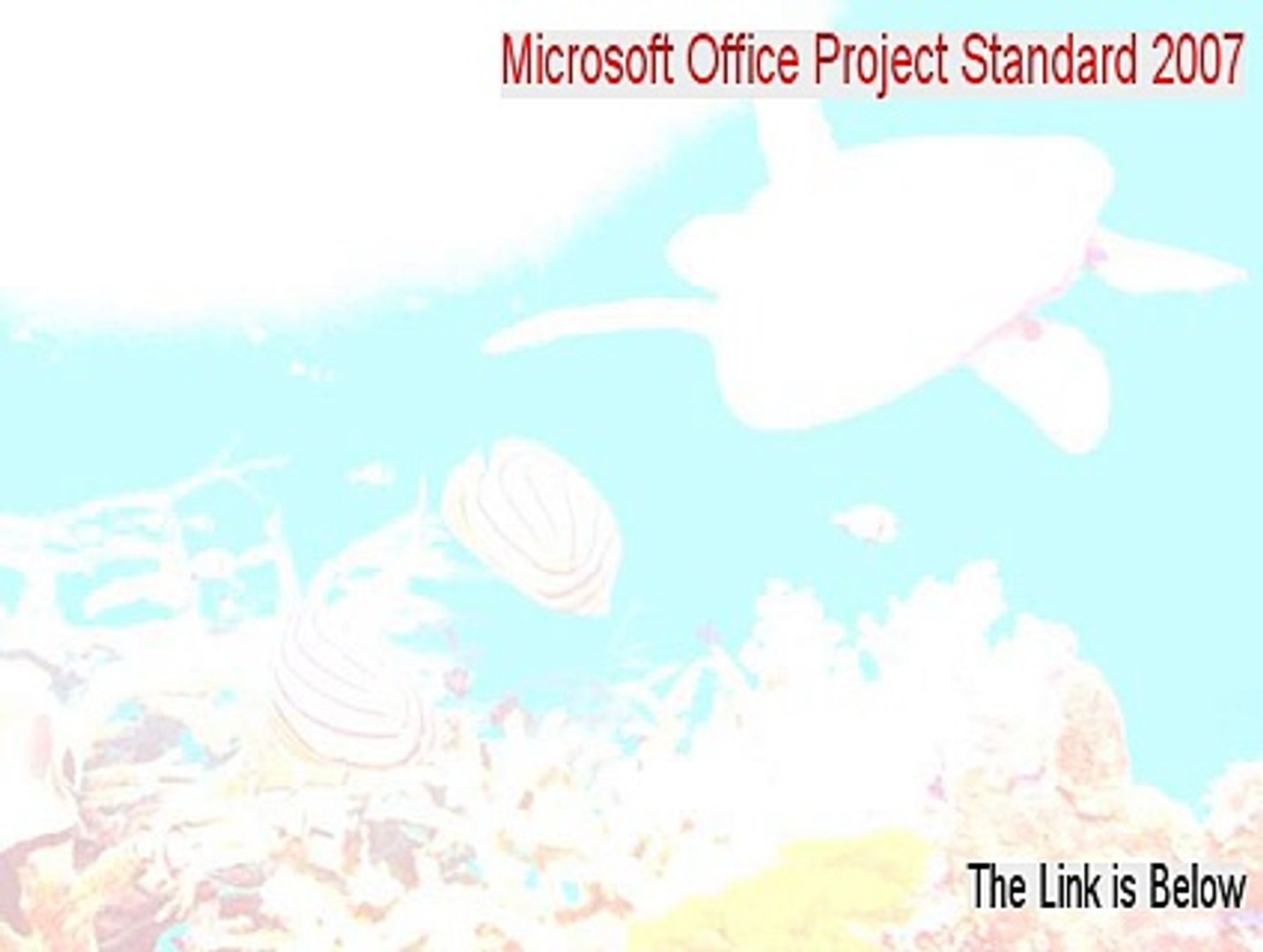 Microsoft Office Project Standard 2007 Keygen - Free of Risk Download [2015]