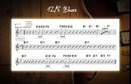 12_8 Blues Jam Track In Various Keys - Guitar Backing Track