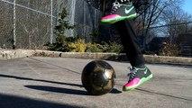 Malouda Flick Tutorial | Flick Up Tutorial | Soccer / Football (Flick Ups)
