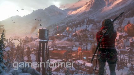 Rise of the Tomb Raider Game Informer Coverage Trailer de