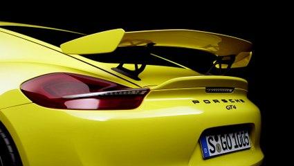 Nouveau Porsche Cayman GT4 : 385 ch !