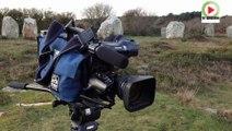 Carnac: Meme pas froid en hiver les Menhirs - Bretagne Télé