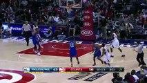 Jeff Teague s Lucky Three   Sixers vs Hawks   January 31, 2015   NBA 2014-15 Season