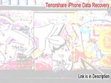 Tenorshare iPhone Data Recovery (iPhone 5, 5s, 5c) Key Gen - Instant Download [2015]
