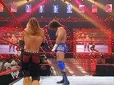 Shelton Benjamin vs. Carlito vs. Johnny Nitro (w/ Melina)