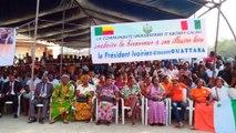 Le Président Alassane OUATTARA a inauguré l'Amphithéâtre Alassane OUATTARA de l'Université d'Abomey-Clavi de Cotonou
