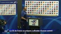 Tournoi des six nations: le XV de France s'apprête à affronter l'Ecosse samedi
